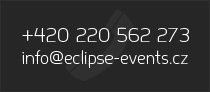 +420 220 562, info@eclipse-events.cz